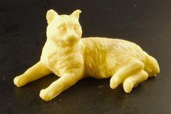 3D Laying Cat Goatsmilk Soap