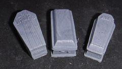 3 Guest Coffins