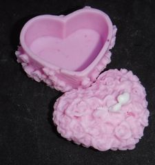 Heart Trinket Box Soap