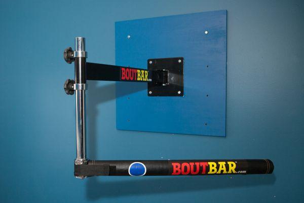 BOUTBAR™ WALL UNIT Rotating Boxing Target Bar