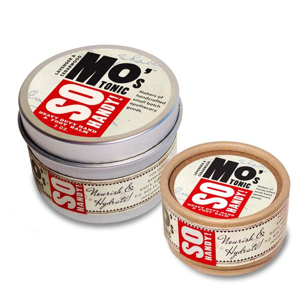 Mo's So Handy! Heavy Duty Balm (Geranium & Clary Sage) 2 oz