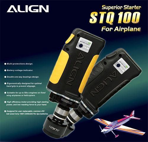 Align Super Starter (For Airplane) (no Battery inc) HFSSTQ07T