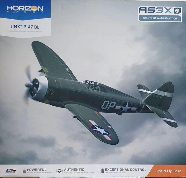 Eflite UMX P-47 BL