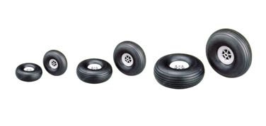 Rubber wheel Anderson (Pair) 83mm