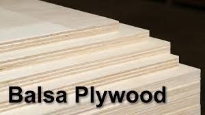 "Balsa Plywood Sheet 1/8"" x 310mm x 927mm"