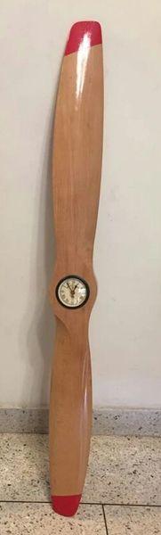 Display Wooden Propeller 48'' with Clock