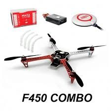 F 450 kit with DJI Naza M lite GPS Combo