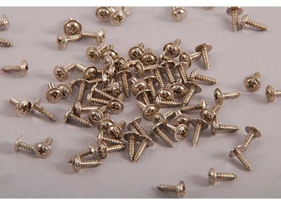 Screws for Motor/ servo mounting Philips Head M2x9.5 mm (100 pcs)