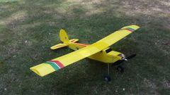 Beginner CoRo Plast Glider 4 Channel 1 Meter wing span RTF