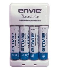 Envie ECR-20 Envie Aa AAA Battery Charger and Rechargeable Batteries
