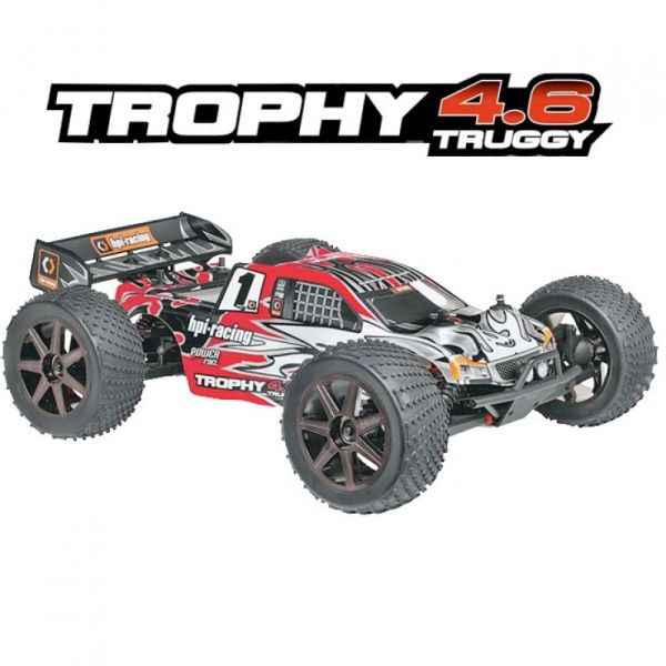 HPI TROPHY TRUGGY 4.6CC NITRO ENGINE
