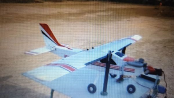 Cessna 25 Ready to Fly with TxRx Nitro Fuel