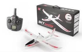 RC plane ready to fly with Camera remote battery charger