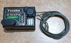 FUTABA R136FA 3 CHANNEL FM RECEIVER 40MHZ