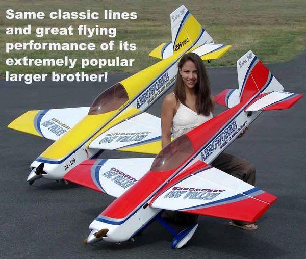 "Semi-scale Aeroworks 85"" 50 cc Extra 260"