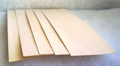 "Balsa Wood Sheet 1mm x 4"" x 20"""