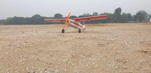 Beginner CoRo Plast Glider 4 Channel RTF Combo