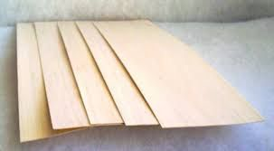 "Balsa Wood Sheet 1.5mm x 4"" x 20"""
