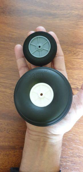 "Huge Sponge Wheel 3.5"" 89mm"