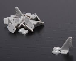 Pom Horns Grey 20x27mm (10pcs/set)