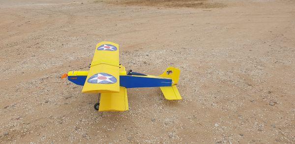 Cub Yellow Biplane 4 Channel RTF Combo