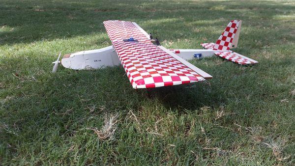 Balsa DIY Glider kit Beginner/ Aerobatic