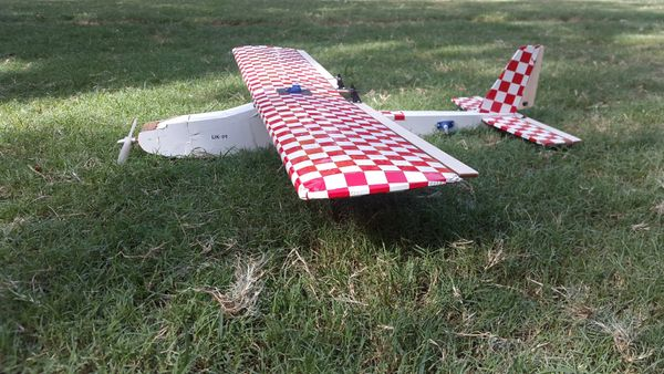 Balsa DIY Glider kit Beginner/ Aerobatic without TxRx