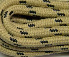 25' Feet Heavy duty TAN w/ BLACK Kevlar(R) Reinforced Tie down Cord Utility String