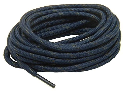 "ProTOUGH(tm) ""Navy w/ Black"" Kevlar Reinforced Heavy Duty Boot Laces - 2 Pair Pack"