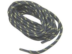 "ProTOUGH(tm) ""Dark Grey w/ Yellow"" Kevlar Reinforced Heavy Duty Boot Laces - 2 Pair Pack"
