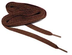 Brilliant CHOCOLATE BROWN TeamLaces(Tm) Bulk Pack 12 Pair - Flat 8mm Athletic Shoelaces