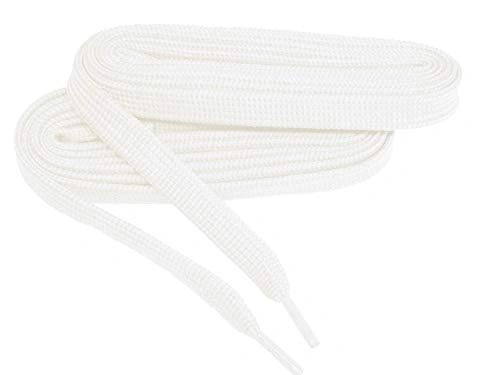 2 Pair Pack- Snow White, Hiker Boot Shoelaces 10mm Extra Durable extremeMAX(tm) Flat
