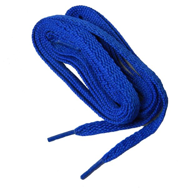 """ProAthletic(tm) FLAT """"Royal Blue"""" Sneaker Shoelaces (2 Pair Pack, 27-84 IN/69-213 CM, 8mm in Width)"""