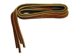 Square cut RED Leather Replacement Shoelaces for Boat Shoes 1/8 inch Rawhide - 2 P...