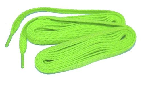 Hot Neon Green Teamlaces(TM) 24 Pair BULK Team Pack