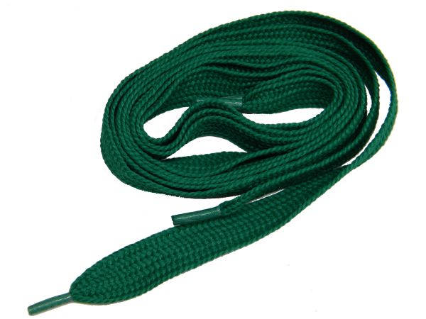 "Proathletic(tm) ""Kelly Green"" FAT(20 mm Wide) Fashionable Athletic Sneaker Shoelaces (2 Pair Pack, Lengths 27-84 IN / 69-213 CM)"