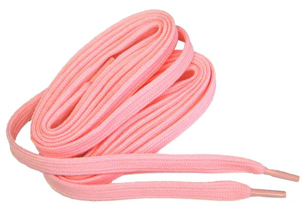 "ProAthletic(tm) FLAT ""Baby Pink"" Sneaker Shoelaces (2 Pair Pack, 27-84 IN/69-213 CM, 8mm in Width)"