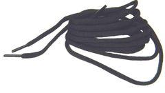 """ProAthletic(tm) OVAL """"Coal Black"""" Sneaker Shoelaces (2 Pair Pack, 27-84 IN/69-213 CM)"""