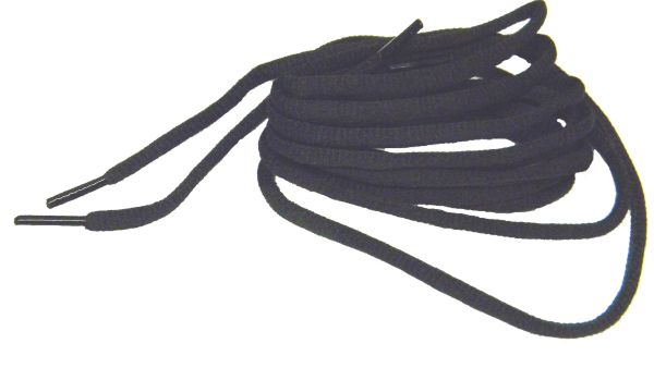 "ProAthletic(tm) OVAL ""Coal Black"" Sneaker Shoelaces (2 Pair Pack, 27-84 IN/69-213 CM)"