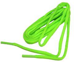 OVAL Neon Green ProAthletic(tm) Trainer Sneaker Shoelaces (2 Pair Pack)