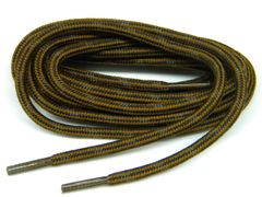 "ProTOUGH(tm) ""Rust w/ Black-Brown"" Kevlar Reinforced Heavy Duty Boot Laces (2 Pair Pack)"