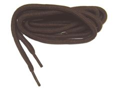 ProMAX(tm) Chocolate Brown Large Diameter 3/16 Inch Polyester Hiking Boot Laces - 2 Pair Pack