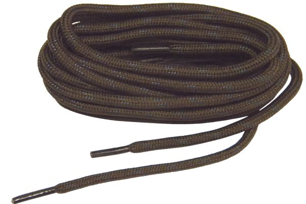 "ProTOUGH(tm) ""Hershey Brown w/ Black"" Kevlar Reinforced Boot Laces - 2 Pair Pack"