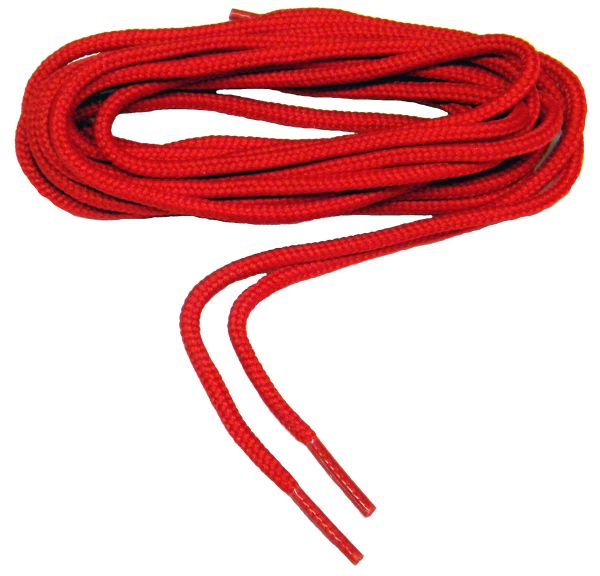 "ProBOOT(tm) ""Fire Engine Red"" Rugged Wear Long-Lasting Polyester Hiking Boot Laces - 2 Pair Pack"