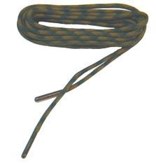 WOODLAND CAMO 550 Paracord Steel Tip Shoelaces Boot Laces Strongest Laces available - (2 Pair Pack)...