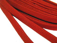 Heavy Duty Brilliant Colored Hockey Tube Style 10 mm Wide Boot Laces Shoelaces - (2 Pair Pack)