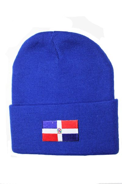 PANAMA - Country Flag BRIM Knitted HAT CAP choose your color BLACK, WHITE, RED, PINK, BLUE... NEW