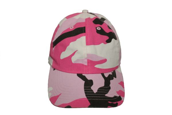 Camouflage Hat Cap .Available : 6 Colors .NEWHATTAN.New (Pink) …