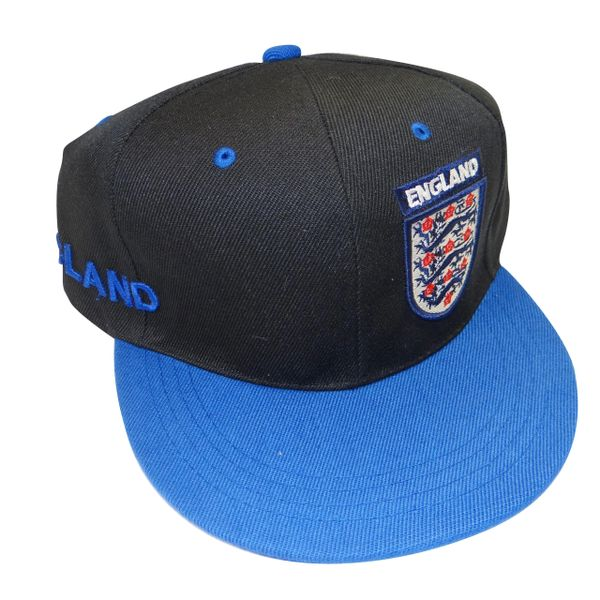 ENGLAND BLACK BLUE HIP HOP HAT CAP .. NEW