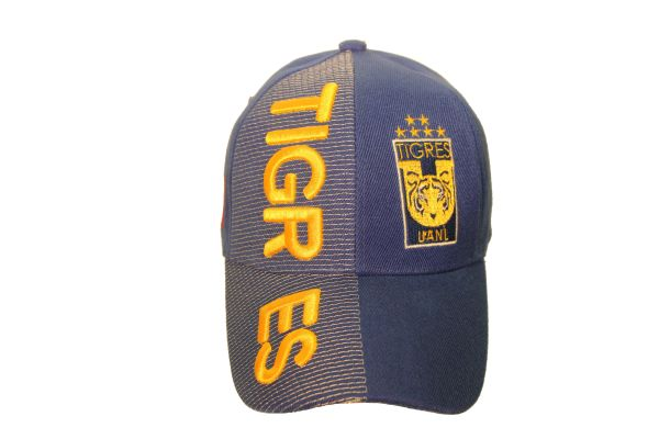 TIGRES UANL ( Mexico Country Flag ) EMBOSSED HAT CAP